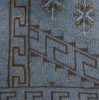 Sapphire Mlge.-Brown Paracas Zipper Alpaca Cardigan