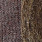 Henna Mlge.-Cinnamon Mlge. Reversible Alpaca Mittens Heavy Weight