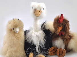 Alpaca Fur Ornaments